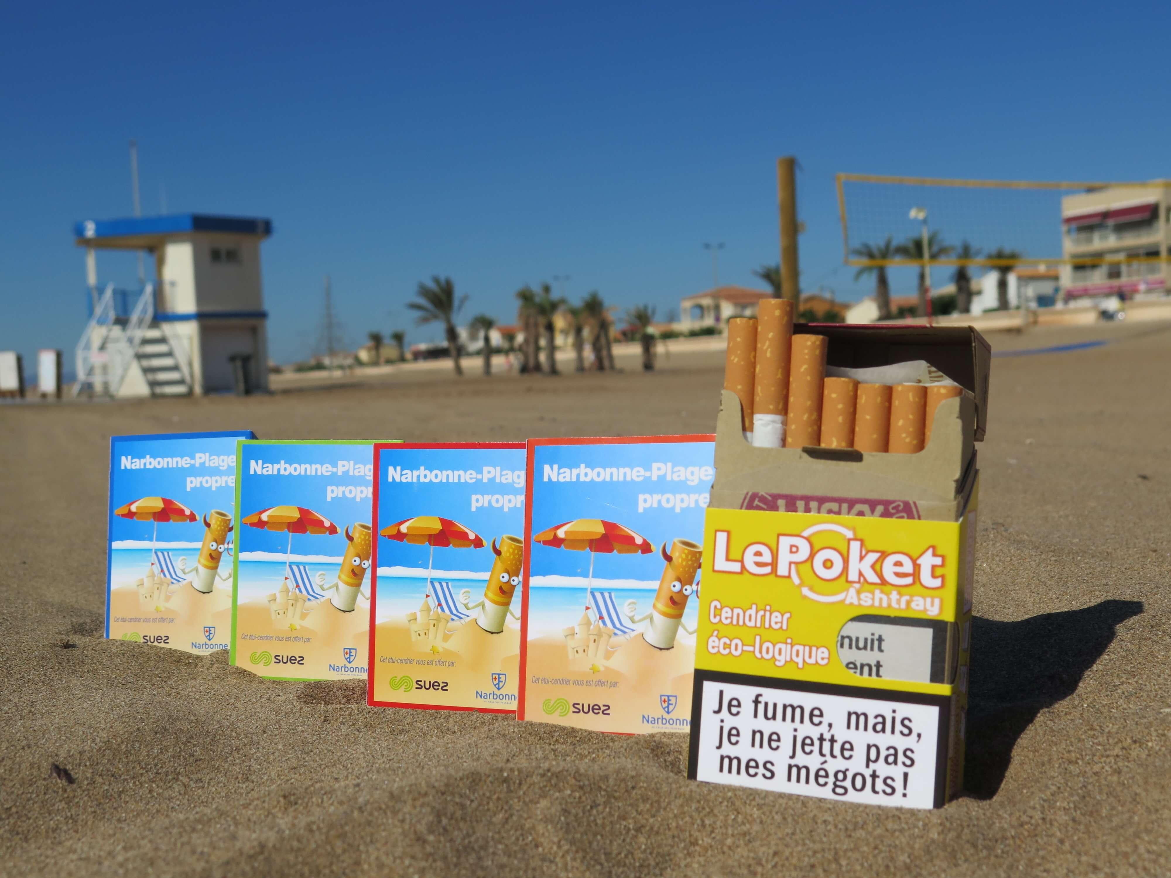 lepoket cendrier de poche personnalisable écologique outil de communication